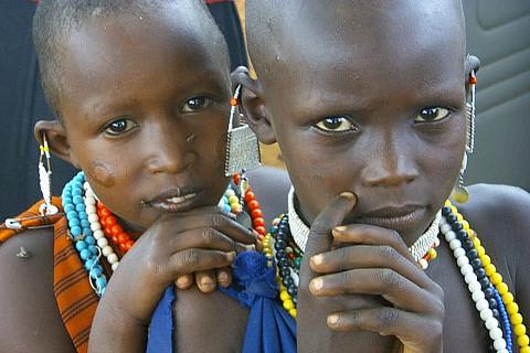 I Maasai a Mesagne