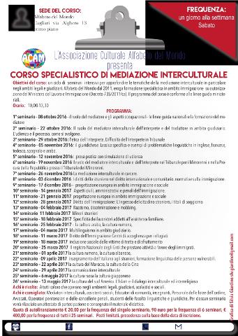 Corso per Mediatore Interculturale a Cagliari