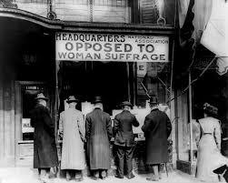 banchetto contro voto alle donne