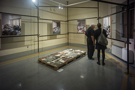 l'esposizione fotografica epea03 a Viareggio