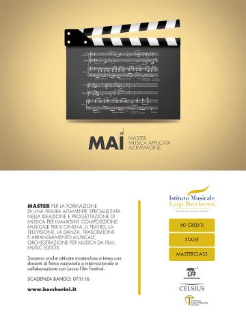 Prorogato il termine per le iscrizioni ai master MaDAMM e MAI