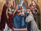 Madonna col Bambino in trono di Cola dell'Amatrice