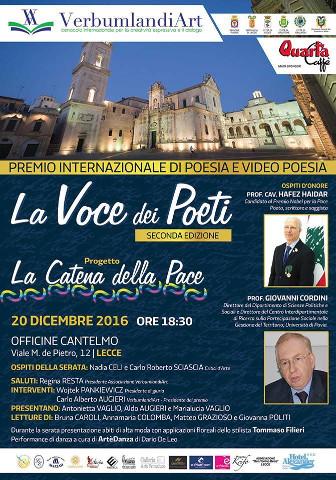 """A Lecce il progetto """"Catena della Pace"""""""
