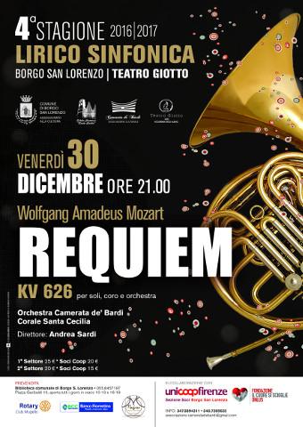 Il Requiem di Mozart a Borgo San Lorenzo