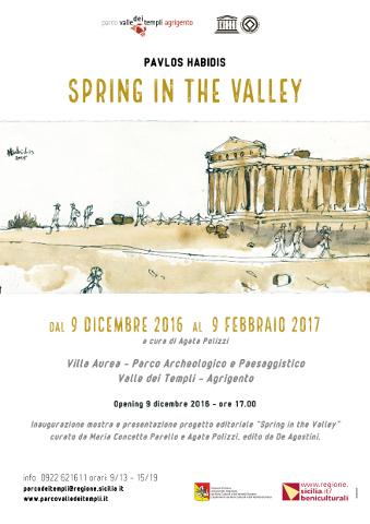 L'antica Agrigento negli acquerelli di Pavlos Habidis