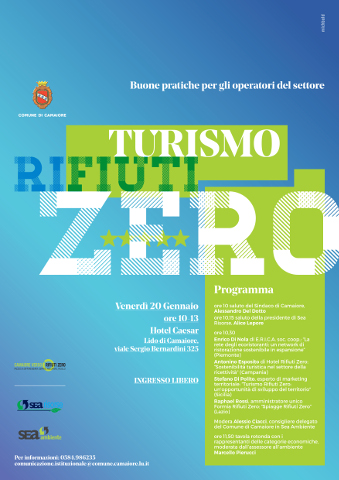 """""""Turismo Rifiuti Zero"""": convegno a Camaiore"""