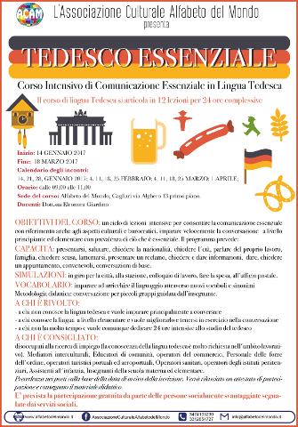 Corso di comunicazione essenziale in lingua tedesca a Cagliari