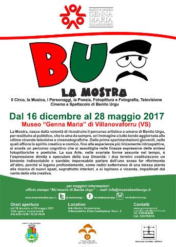 """""""BU"""", mostra di Benito Urgu a Villanovaforru"""
