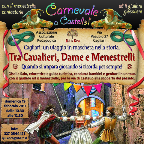A Cagliari Carnevale a Castello