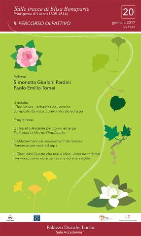 """Parte a Lucca """"Elisa Bonaparte. Il percorso olfattivo"""""""