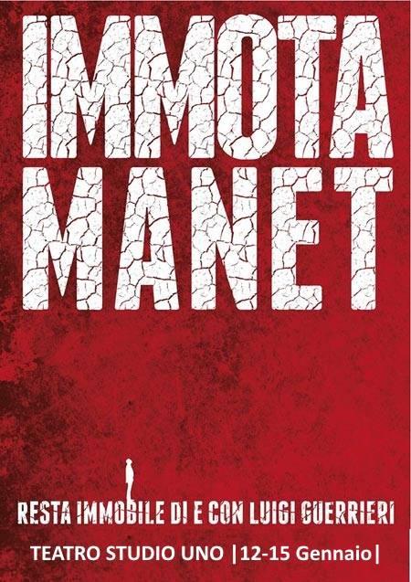 """Con """"Immota Manet"""" il terremoto dell'Aquila va in scena Roma"""