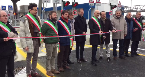 Inaugurato il casello Firenzuola-Mugello dell'A1