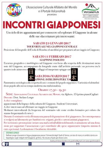 A Cagliari un tour virtuale nel Giappone Centrale