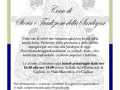 corso di storia della Sardegna a Cagliari