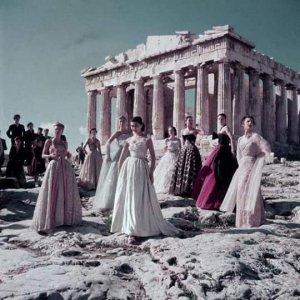 Sfilata davanti all'Acropoli greca?