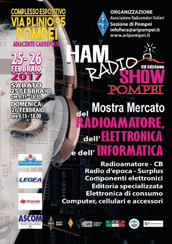 Ham Radio Show: mostra di informatica ed elettronica a Pompei