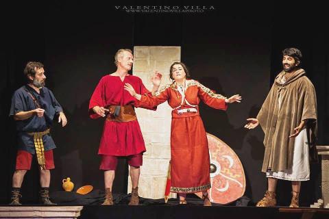"""Il """"Miles Glorioriosus"""" di Plauto al Teatro Civico di Sinnai"""