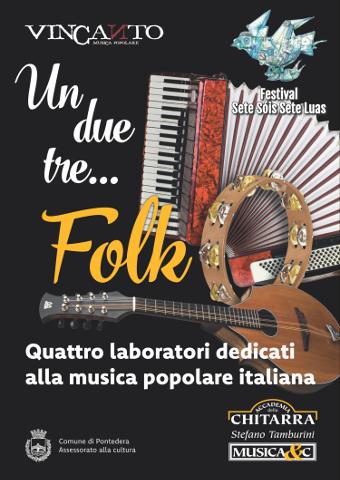 Un, due, tre…folk: laboratori di musica popolare a Pontedera