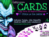 spettacolo teatrale cards a scandicci