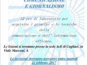 corso di comunicazione e giornalismo a Cagliari