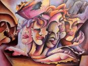 donne dipinte da Zelito
