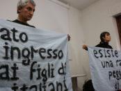 Luisa Cattaneo e Roberto Gioffrè in evoluzioni razziali