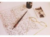 carta, penna e calamaio