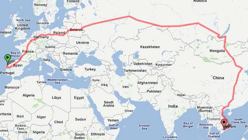 Il viaggio in treno più lungo del mondo: sogno o realtà?