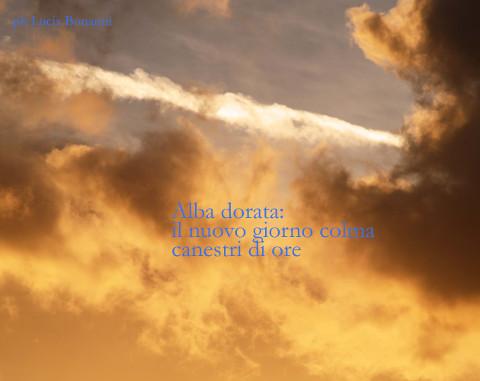 L'angolo della poesia: Alba con haiku di Lucia Bonanni