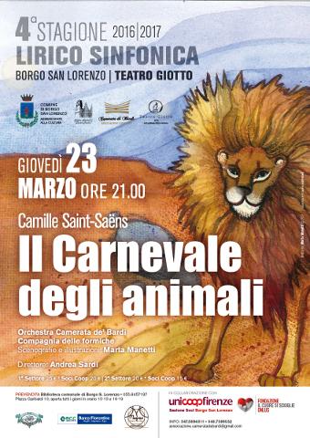 Il Carnevale degli Animali e Giotto chiudono la Stagione Lirico-Sinfonica borghigiana