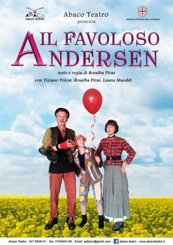 """""""Il Favoloso Andersen"""" di Abaco Teatro a Monserrato"""