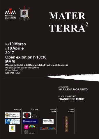 """La mostra collettiva """"Mater Terra"""" a Cosenza"""