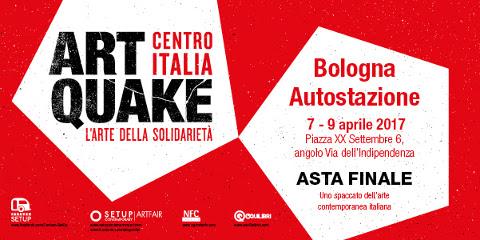 Asta finale di Artquake Centro Italia – L'arte della solidarietà