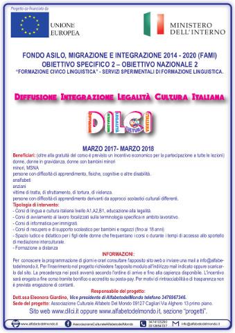 Corsi di lingua gratuiti e assistenza per stranieri a Cagliari