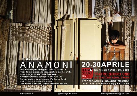 """""""Anamoni"""", spettacolo di teatro danza a Roma"""