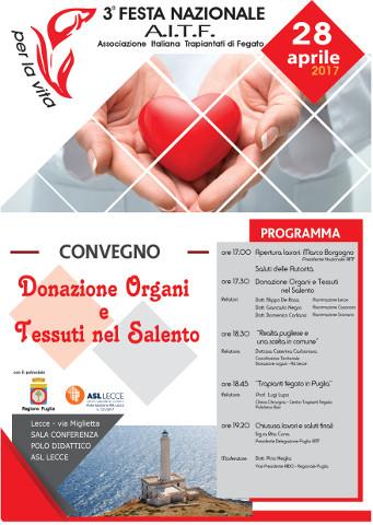 3^ Festa nazionale dell'AITF in Puglia