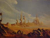 Paesaggio Surreale di Claudio Amadei