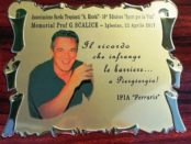 Targa in memoria di Giorgio Scalice