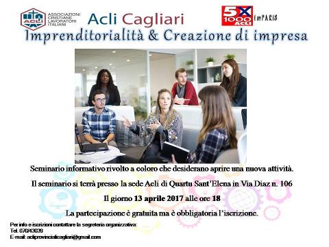 corso di imprenditorialità e creazione di impresa a Quartu