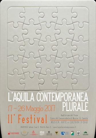 """II edizione del festival """"L'Aquila contemporanea plurale"""""""