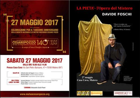"""""""La pietà"""" di Davide Foschi a Matera"""