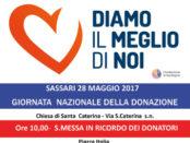 Giornata della donazione degli organi a Sassari