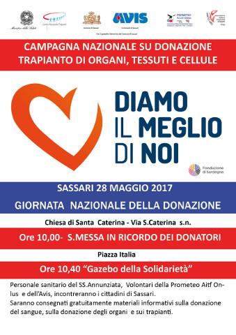 La Giornata per la donazione di organi a Sassari