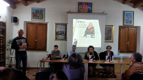 presentazione de L'emissario a Ussaramanna