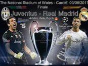 Juventus contro Real Madrid