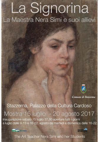 """La mostra """"La Signorina. Nera Simi ed i suoi allievi"""" a Stazzema"""