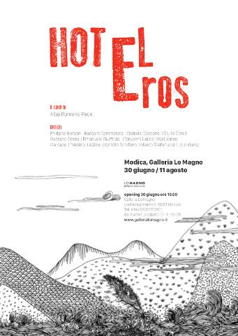"""""""Hotel Eros"""", mostra collettiva itinerante a Modica"""