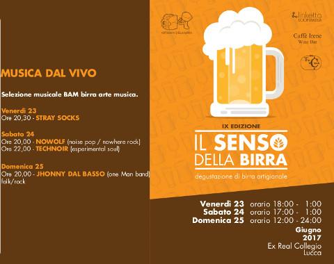"""""""Il Senso della Birra"""" a Lucca"""
