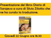 presentazione di Diario di Sarajevo a Cagliari