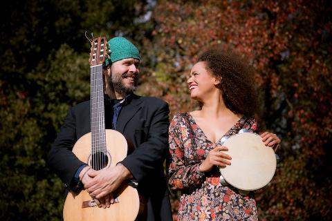 Giancarlo Bianchetti e Silvania Dos Santos
